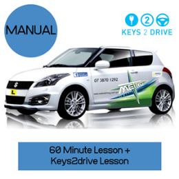 Keys2Drive Man Package: Please note not available on the Gold Coast