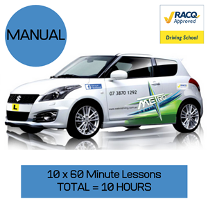 """<p>Your voucher includes:</p> <ol class=""""voucher-list""""> <li class=""""voucher-list"""">This is 10 x 1 hour lessons with a qualified instructor in a driving school vehicle</li> <li class=""""voucher-list"""">To be eligible for this package you must present your or your parents RACQ/FREE2GO card at first lesson</li> <li class=""""voucher-list"""">Can be taken as any combination eg(4 x 2 hour and 2 x 1 hour lessons = 10 hours)</li> <li class=""""voucher-list"""">Pick up from home</li> <li class=""""voucher-list"""">Return to home work or close location</li> </ol> <p>&nbsp;</p> <meta charset=""""utf-8"""" /> <p>Valid for 12 months from date of purchase.</p> <p>For full Terms and Conditions see: <a href=""""https://metrodriving.com.au/Terms"""">https://metrodriving.com.au/Terms</a></p>"""