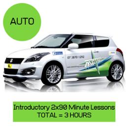 2 x 60 Minute Auto lessons