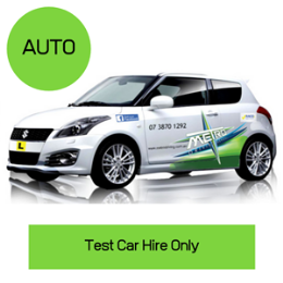 Auto Car Hire  for Test Only