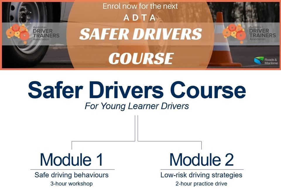 Enrol at ADTA Safer Drivers Course