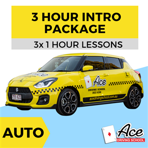 Auto Introductory Package 3x 1 hour * One-Time-Only