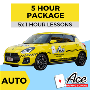 Auto 5 Lesson Package
