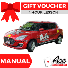 Driving Lesson Gift Voucher 1 Hour - Manual