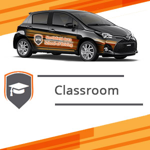 Classroom at Northfield School of Driving