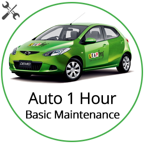 Automatic 1 Hour Basic Vehicle Maintenance at Leapfrog Driving School