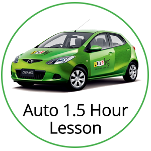 Automatic 90 min Lesson at Leapfrog Driving School