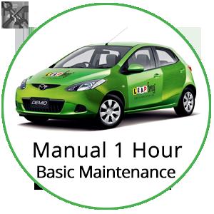 Manual 1 Hour Basic Vehicle Maintenance at Leapfrog Driving School