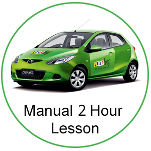 Manual 2 Hour Lesson at Leapfrog Driving School