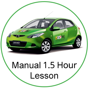 Manual 90 Minute Lesson at Leapfrog Driving Pty Ltd