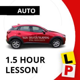 Auto 1.5hr Lesson Voucher