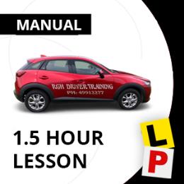 Manual 1.5hr Lesson Voucher