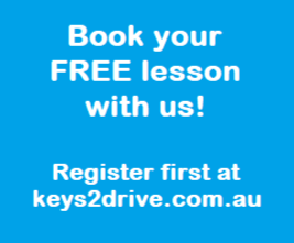 Auto FREE Keys2drive Lesson at 2Pass Driving School Cairns