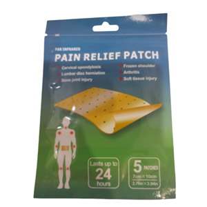 Pain Relief Patch at First Things First Wellness Centre