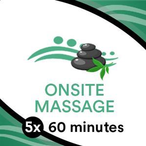 5 x 60 Min Massage Goodlife Gym at TRU Massage