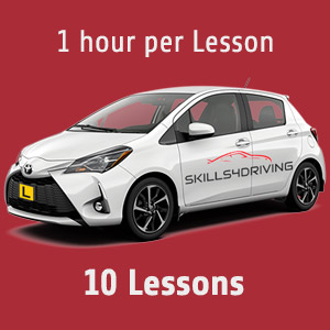 10 x 1 hour Lessons at Skills4Driving