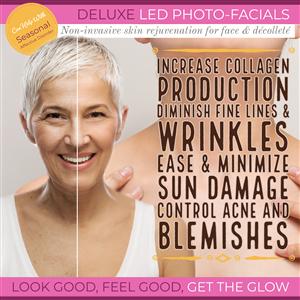 Deluxe LED Photo-Facial at Vital Living WellSpa
