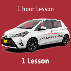 1 hour Lessons: 1 hour Lesson at Skills4Driving