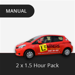 2 x 1.5 Hour Lesson Package (Manual)