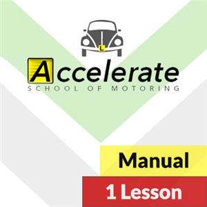 1 Hour Manual Lesson at Accelerate School of Motoring
