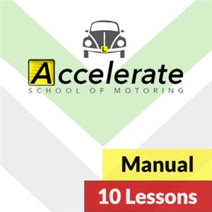 Manual Lessons: 10 x Manual Lessons at Accelerate School of Motoring