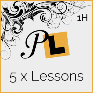 5 x 1 Hour Lessons at Platinum Driving Tuition