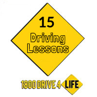 15 Lessons Package at Drive4Life