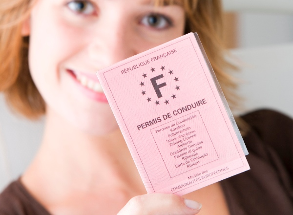 french driving licence holder