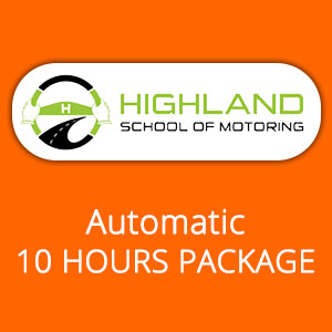 Automatic 10 Hours Package at Highland School of Motoring