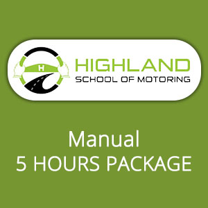 Manual 5 Hours Package at Highland School of Motoring