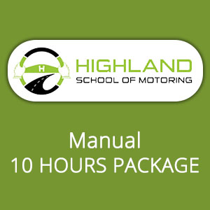 Manual 10 Hours Package at Highland School of Motoring