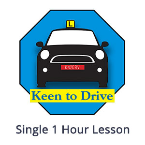 Single 1 Hour Auto Lesson at Keen to Drive