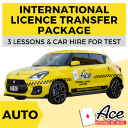 Auto International Licence Transfer Package