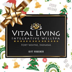 $50 Gift Voucher at Vital Living WellSpa
