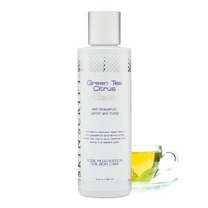 Green Tea Citrus Cleanser at Vital Living WellSpa
