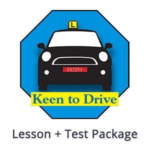 Single Manual Lesson + Test at Keen to Drive