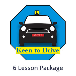 6 Manual Lesson Package at Keen to Drive