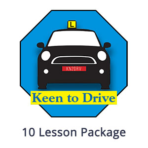 10 Manual Lesson Package at Keen to Drive