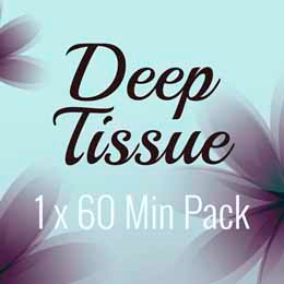 1 x 60 Min Deep Tissue Massage