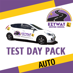 Test Day Pack Automatic + FREE HYPNOSIS at Ezyway Driving School
