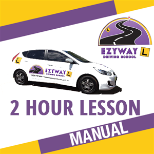 2 Hour Manual Lesson at Ezyway Driving School