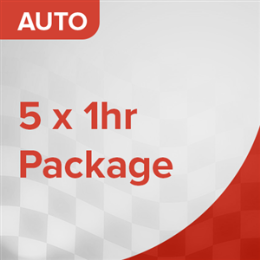 5 Car Lessons Package (Manual)