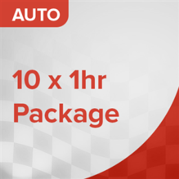 10 Car Lessons Package (Auto)