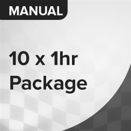 10 Car Lessons Package (Manual)