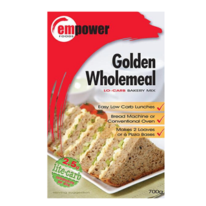 Empower Golden Wholemeal Bread Mix at First Things First Wellness Centre