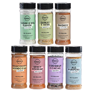 Mingle Spices Seasoning at First Things First Wellness Centre