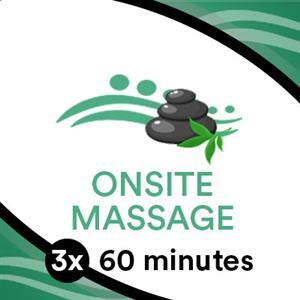 3 x 60 min Massage Goodlife Gym  at TRU Massage