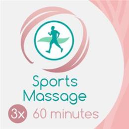 3 x 60 Min Sports Massage
