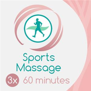 3 x 60 Min Sports Massage at Tayloring Your Health & Beauty