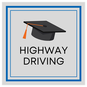 Highway Driving at Onroad Driving School